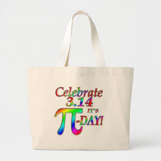 Pi Day Large Tote Bag