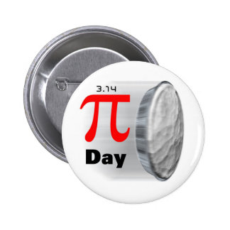 Pi Day - March 14th Button