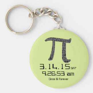 Pi Day March 2015 Custom design Keychain