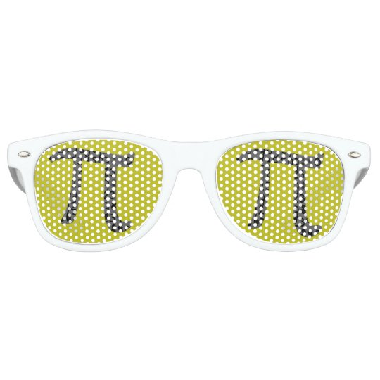 Pi Day March 2015 Custom design Sunglasses