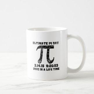 Pi day of a lifetime basic white mug
