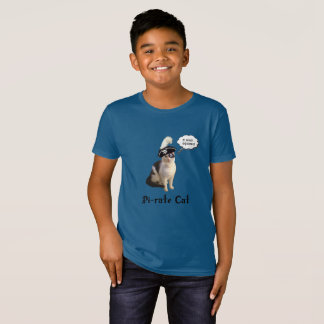 Pi Day Pi-Rate Cat T-Shirt