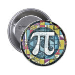 Pi Day Pi Symbols Button