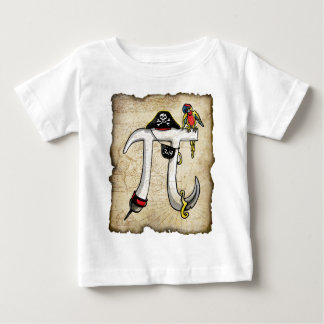 Pi Day Pirate Baby T-Shirt
