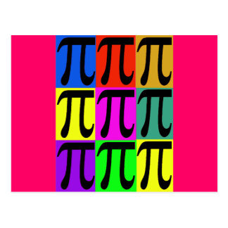 Pi Day POPART gifts Postcard
