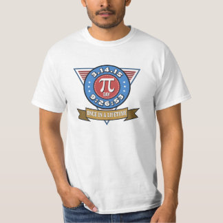 Pi Day Symbol for Math Nerds on March 14 T-shirt