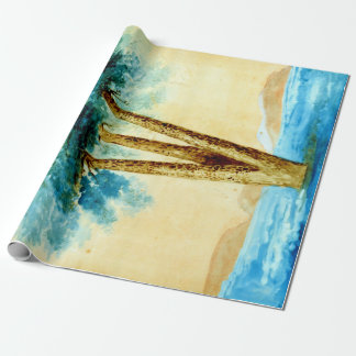 Pi de les Tres Branques Wrapping Paper