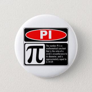 Pi Explanation 2 Inch Round Button