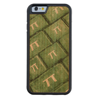 Pi Grunge Style Pattern Carved Cherry iPhone 6 Bumper Case