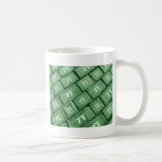 Pi Grunge Style Pattern Coffee Mug