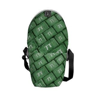 Pi Grunge Style Pattern Commuter Bags
