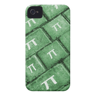 Pi Grunge Style Pattern iPhone 4 Cases