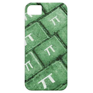 Pi Grunge Style Pattern iPhone 5 Case