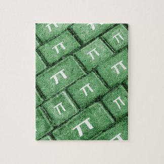 Pi Grunge Style Pattern Jigsaw Puzzle