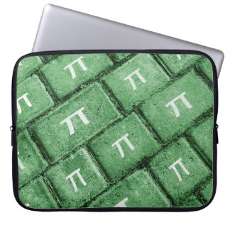 Pi Grunge Style Pattern Laptop Sleeve