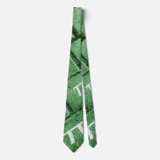 Pi Grunge Style Pattern Tie