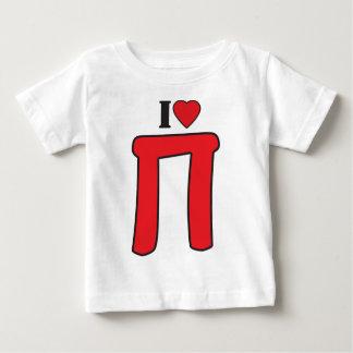 Pi - I Love Pi Baby T-Shirt