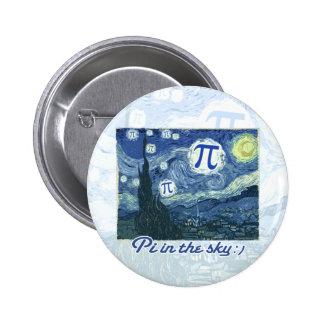 Pi in the Sky 2 Inch Round Button