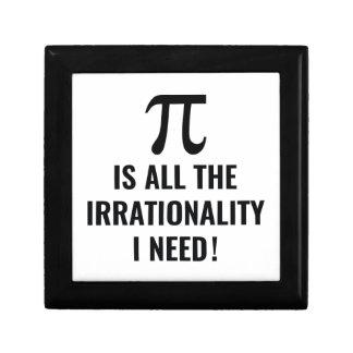 Pi Irrationality Gift Box