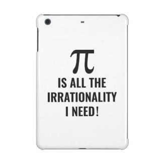 Pi Irrationality iPad Mini Cover
