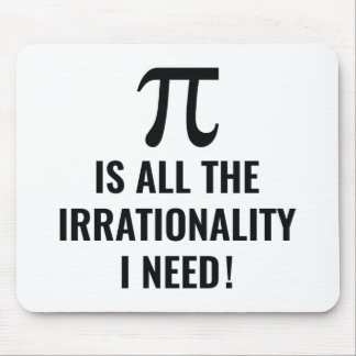 Pi Irrationality Mouse Pad