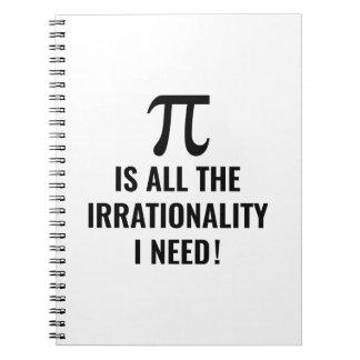 Pi Irrationality Notebook