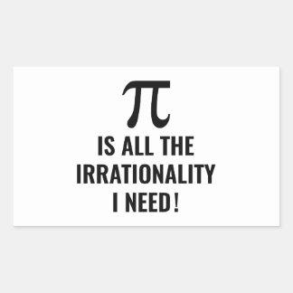Pi Irrationality Sticker