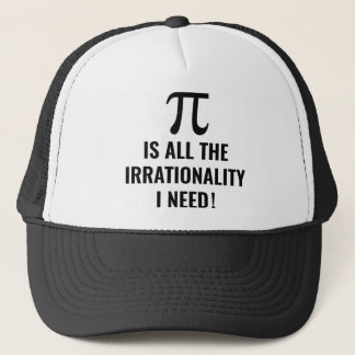 Pi Irrationality Trucker Hat