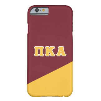 Pi Kappa Alpha | Greek Letters Barely There iPhone 6 Case