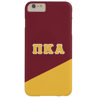 Pi Kappa Alpha | Greek Letters Barely There iPhone 6 Plus Case