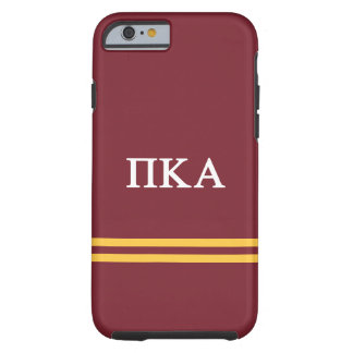Pi Kappa Alpha | Sport Stripe Tough iPhone 6 Case