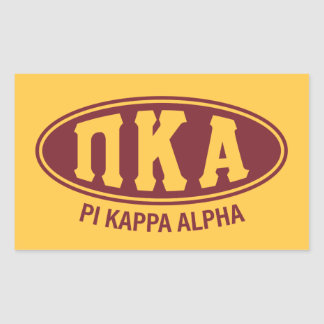 Pi Kappa Alpha | Vintage Sticker