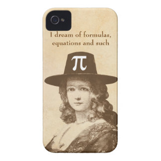 Pi Lady Dreams Case-Mate iPhone 4 Cases