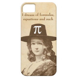 Pi Lady Dreams iPhone 5 Covers