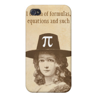 Pi Lady Dreams iPhone 4 Cases