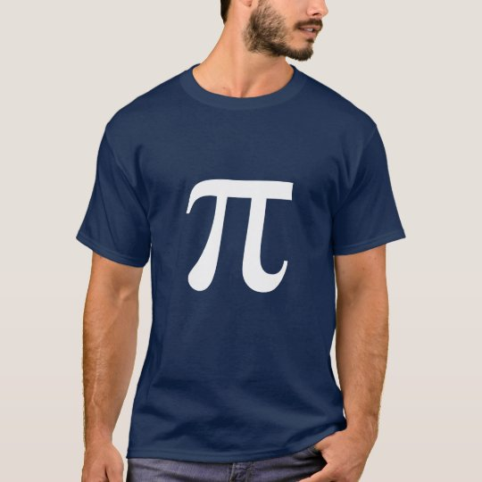 Pi Math Symbol Greek T-Shirt