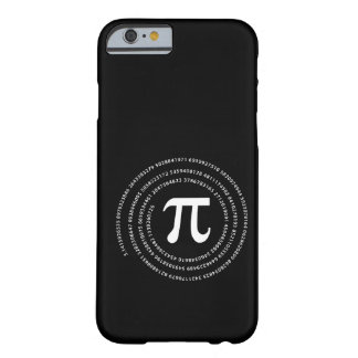 Pi Number Design Barely There iPhone 6 Case
