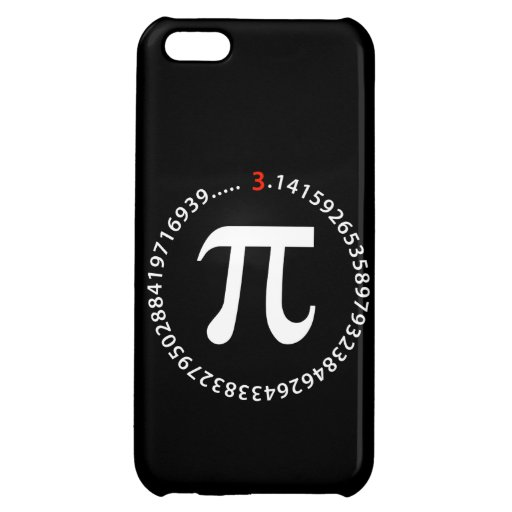Pi Number Design Cover For iPhone 5C