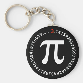 Pi Number Design Key Chain