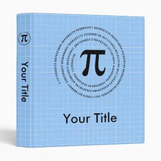 Pi Number Design Vinyl Binders