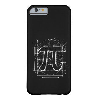 Pi Number Drawing Barely There iPhone 6 Case