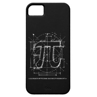 Pi Number Drawing Case For The iPhone 5