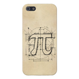 Pi Number Drawing Cover For iPhone 5/5S