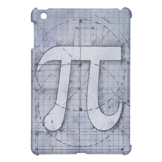 Pi Number Drawing Cover For The iPad Mini