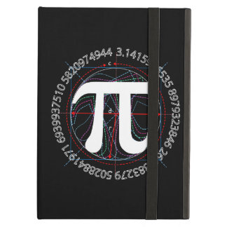 Pi Number Drawing iPad Air Cover