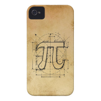 Pi Number Drawing iPhone 4 Case-Mate Case