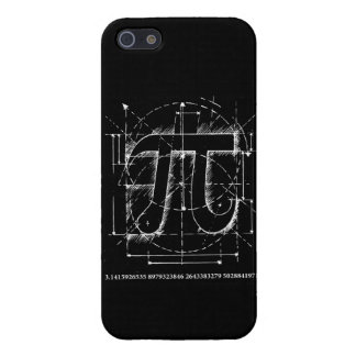 Pi Number Drawing iPhone 5/5S Cases