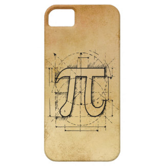 Pi Number Drawing iPhone 5 Cases
