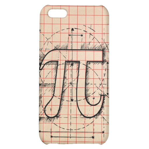 Pi Number Drawing iPhone 5C Covers