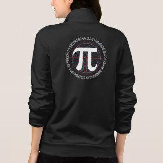 Pi Number Drawing Printed Jackets